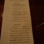 Osgood Beer List