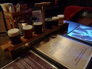 Saugatuck Beer Samples