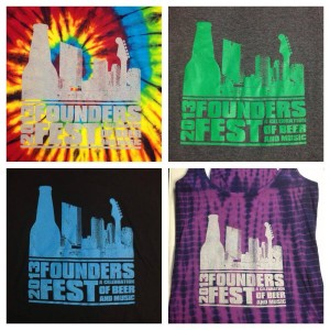 Founders Fest 2013 shirt designs