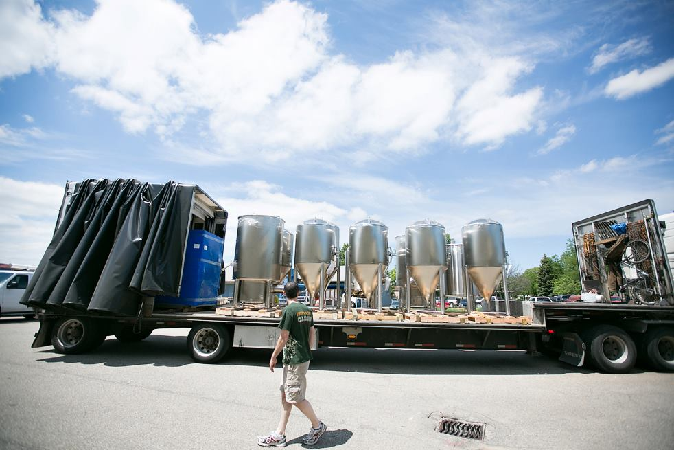 osgood brewing new tanks