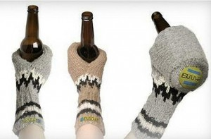 Beer Cozy Mittens