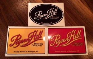 Pigeon Hill Brewery Stickers