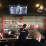Cedar Springs Brewery bar and taps