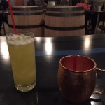 Gray Skies Distillery Iron Horse and Twisted Mule cocktails